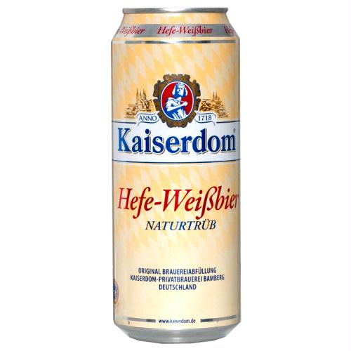 Kaiserdom Hefe Weissbier 1000 ml can