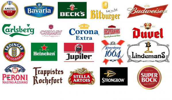 Selling Stella, Budweiser, Guinness and all Carlsberg range in the UK, Holland or France