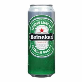 Dutch Heineken 50cl cans