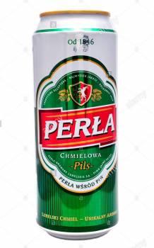 Perla Chmielowa 6% 0.5l cans