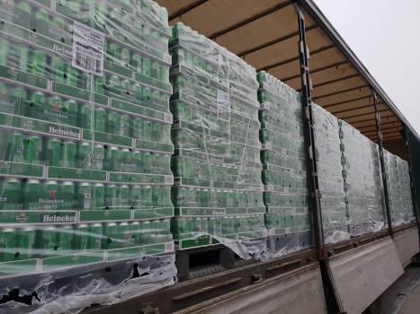 Regular supply for Heineken,kronenburg, Desperados