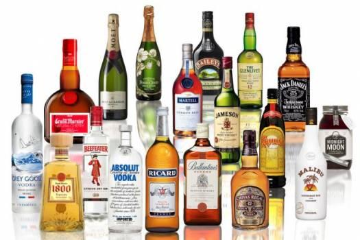 2400 bottles spirits