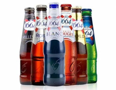 KRONENBOURG 1664 FLAVOURS 25 CL BOTTLES OFFER WITH ESCROW