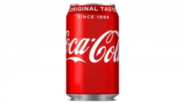 Coca cola can 33 cl. GB