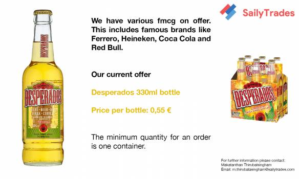 Desperados 33cl Bottle