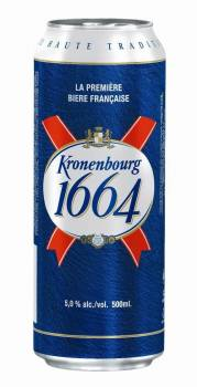 Kronenbourg K1664 50cl Can