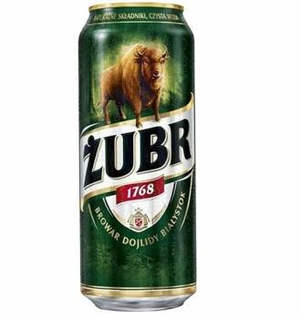 Zubr 50cl Can