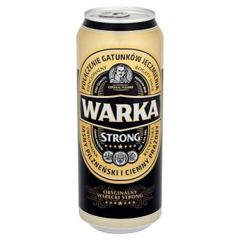 Warka Strong 50cl Can