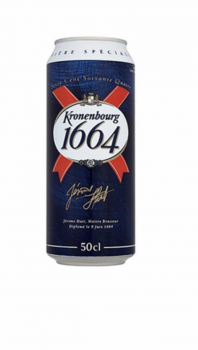 Kronenbourg 1664 cans wanted
