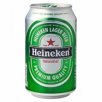 Heineken 33cl cans