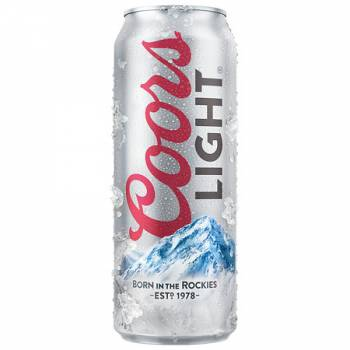 Coors Light 500ml cans