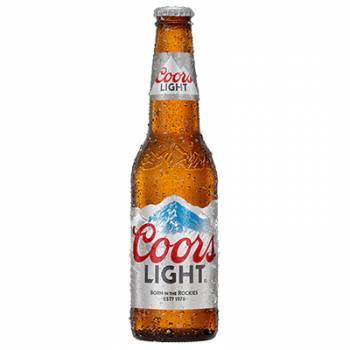 Coors Light 330ml bottles