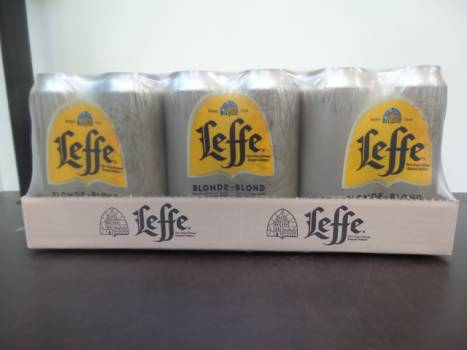 Leffe Blonde 50cl cans