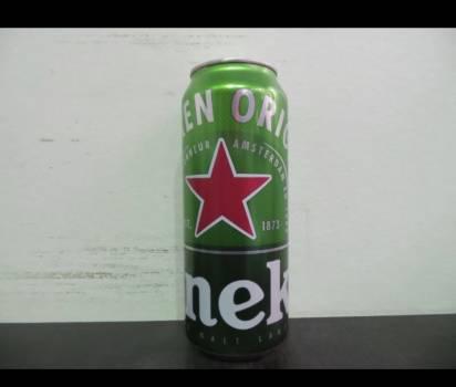 Heineken 50cl cans.