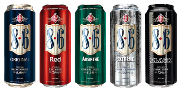 Bavaria 8.6 24x50cl cans at €17.95 per case contact;Whatsapp :+447404446163