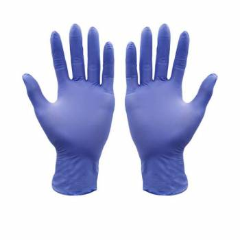 BUY BLUE DISPOSABLE GLOVES – LATEX, NITRILE OR NITRILE/VINYL BLEND (POWDER FREE) WHOLESALE