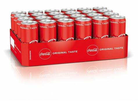 COCA COLA CAN 330ML (PACK OF 24) WHOLESALE