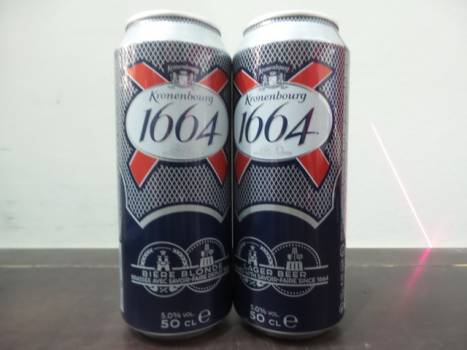 Kronenbourg Can 24x50cl 5%