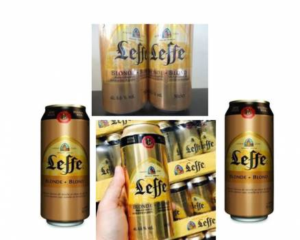 looking for 2 loads leffe cans
