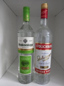 Moskovskaya and Stolichnaya