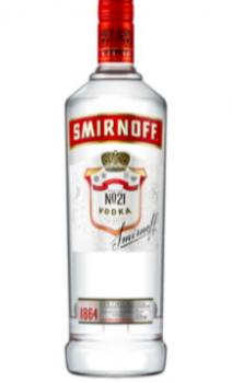 SMIRNOFF RED 100 CL