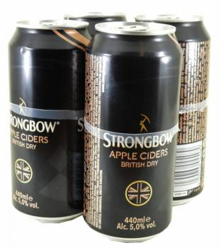 Strongbow British Dry Cider 6x4x440ml