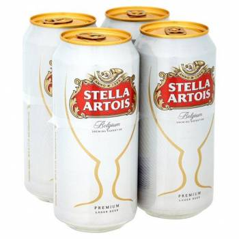 STELLA 4X6X440ML CANS 4.5%