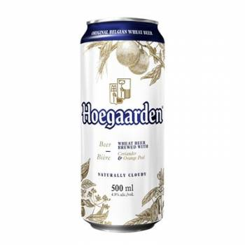Hoegaarden 50cl tin