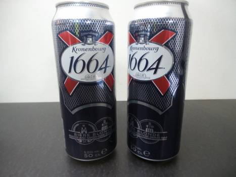 Kronenbourg Can 24x50cl