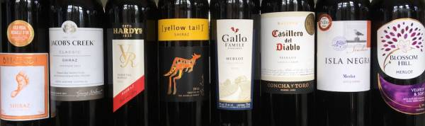Branded wines