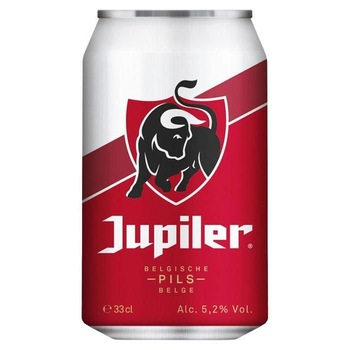 Jupiler 33cl cans