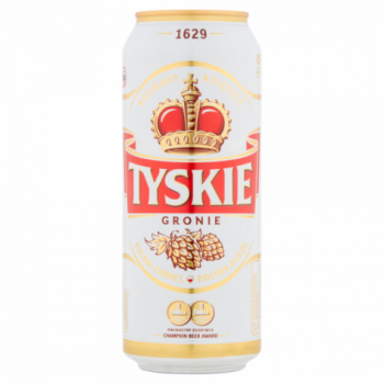Tyskie 50cl cans 5.2%