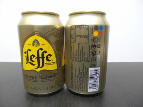 Leffe Blonde/Brun 6x4x33cl cans OFFER