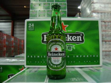 Desperados, Heineken, Kronenbourg, Budweiser, Corona, Guinness, Leffe, Stella Artois,Carlsberg, Jupilar, Murphy