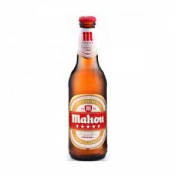 Looking Mahou Cinco Estrellas 24x330ml 5.5% Bottles