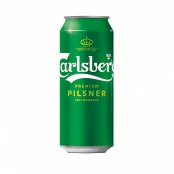 Carlsberg can 50 cl Polish origin