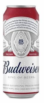 Budweiser 50cl €12.75