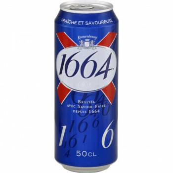 KRONENBOURG 1664 24X50CL CANS 9.85€
