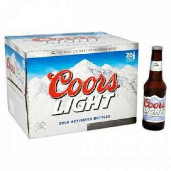 Coors Light 24x330ml 4%