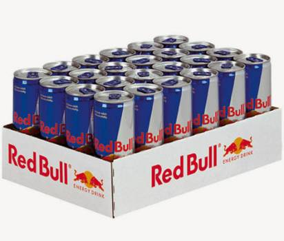 Red Bull 250ml Energy Drinks (all text available)
