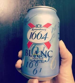 Best French Kronenbourg 1664 Blanc Beer 330ml/350ml