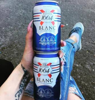 Kronenbourg 1664 Blanc Beer 330ml/350ml