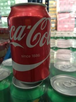 Coca cola 330ml soft drin