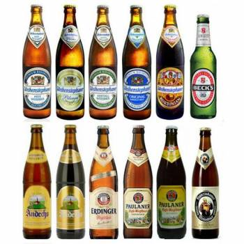 German beer brands. Full containers. Origin: Germany / Deutschland