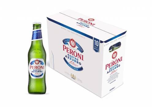 Peroni Nastro Azzuro Premium Lager 33 cl Bottle