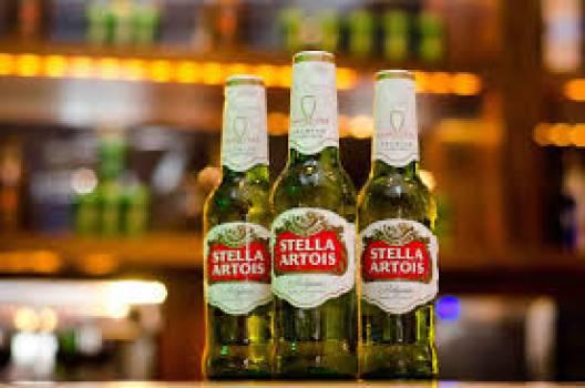 Fresh Beers, Stella, Urqell, Asahi, Peroni. Paulaner, Corona,