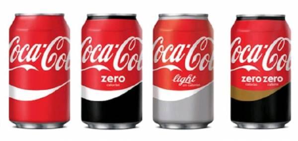 Cocacola ,zero ,Light ,zero zero can 33 cl. french