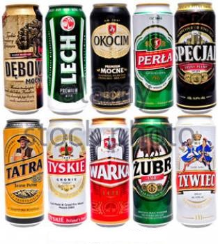 Polish beers available: full range