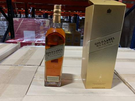 Johnnie Walker Gold Reserve 6/100/40 / REF / Gbx / T1 coded