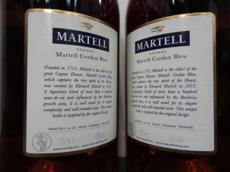 Martell Cordon Bleu 12/70/40 / Ref / Gbx / coded/ T2